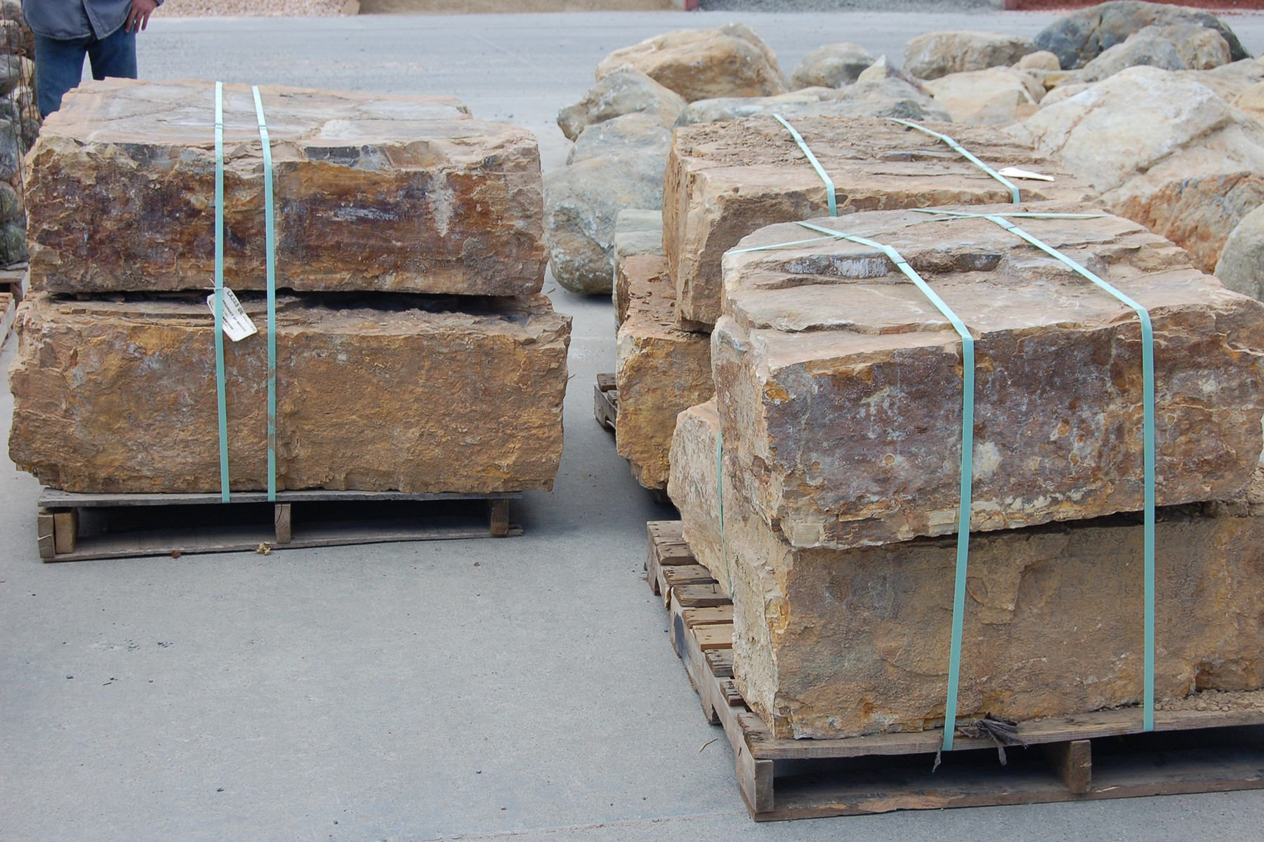 Sonoran Gold Boulders