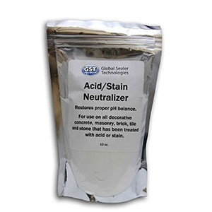 Acid Stain Neutralizing Rinse Package
