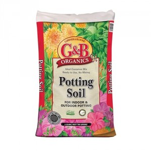 G&B Organics Potting Soil (2 cubic foot bags)