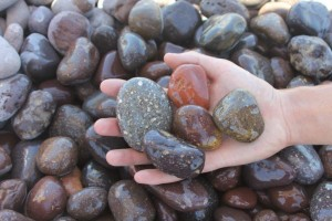 "Lapaz Pebble Red 1""X2"""