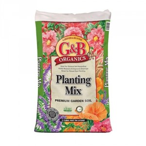 G&B Organics Planting Mix (2 cubic foot bags)